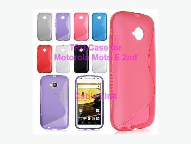 S-line TPU Case For Motorola Moto E 2nd E+1 E2