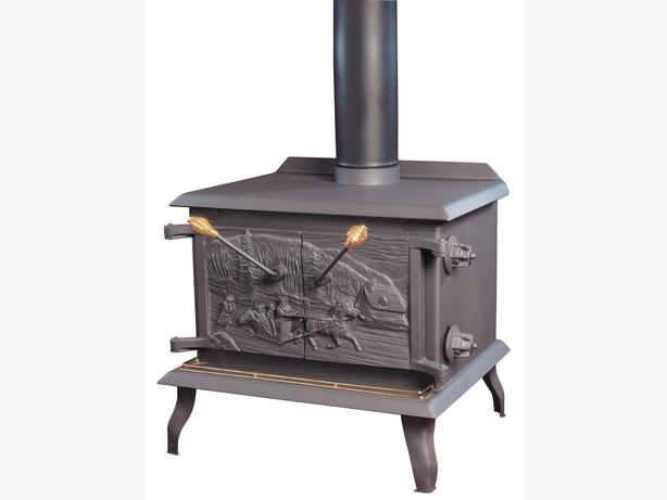 Large Wood Stove, Drolet MFR. - Large Wood Stove, Drolet MFR. Victoria City, Victoria