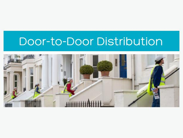 printing delivery of door hangers flyers door 2 door