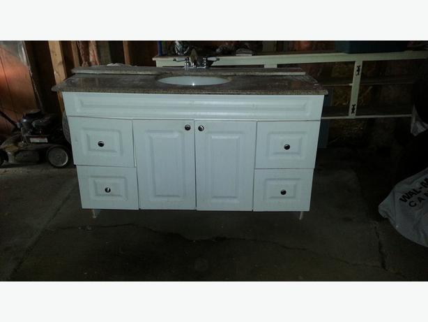 Bath Vanity With Marble Counter Top North Regina Regina