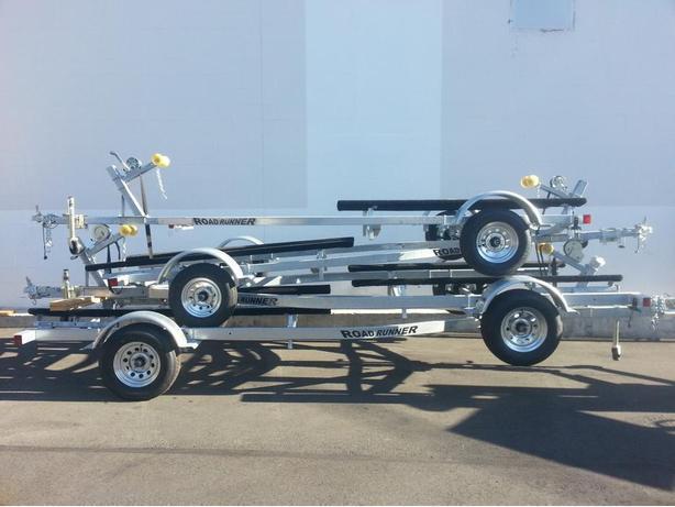 Roadrunner trailers at Alpine Marine