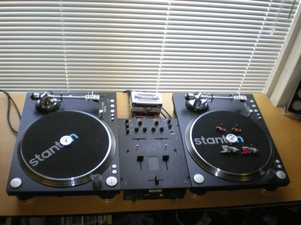 Dj Equipment Stanton Str 8 150 Turntables Rane Amp Vestax