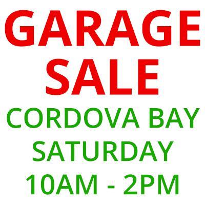 Garage Sale Kitchener