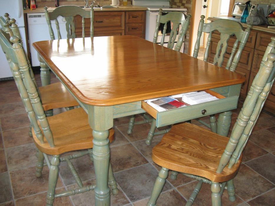 SOLID OAK amp DINING TABLE amp CHAIRS Buckingham Sector  : 48946426934 from usedgatineau.com size 934 x 700 jpeg 96kB