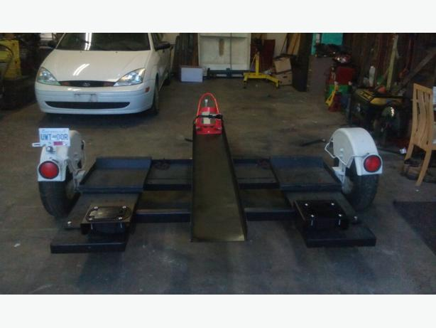 Need A Tow Vehicle And Motor Bike Dolly Sevice Rental