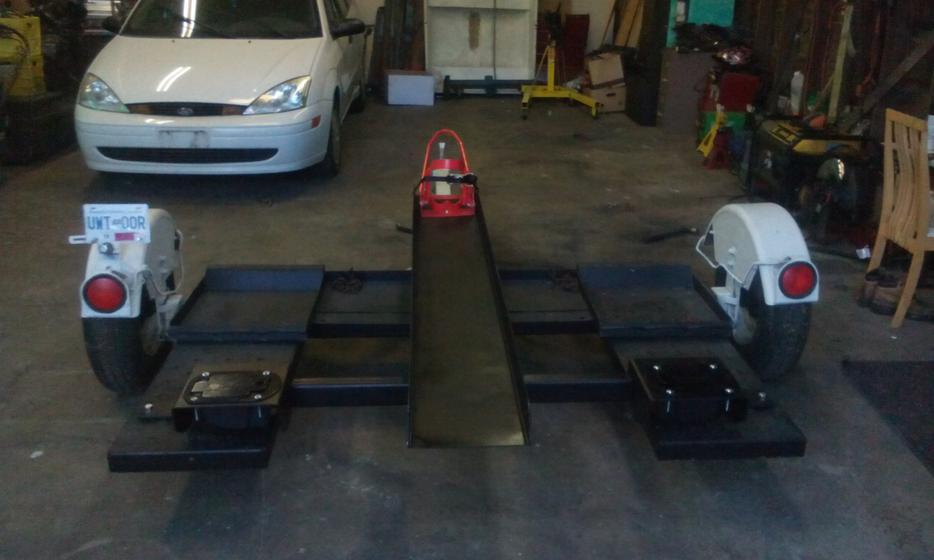 Need a tow vehicle and motor bike dolly sevice rental for West valley motor vehicle