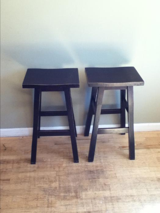 2 Shinto Bar Stools West Shore Langford Colwood Metchosin