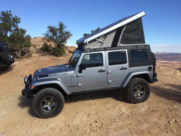 Ursa Minor J30 Pop Up Camper For A Jeep Wrangler Unlimited