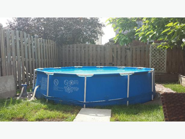 12 foot pool x 30 inches deep 40 obo nepean ottawa for 30 ft garden pool