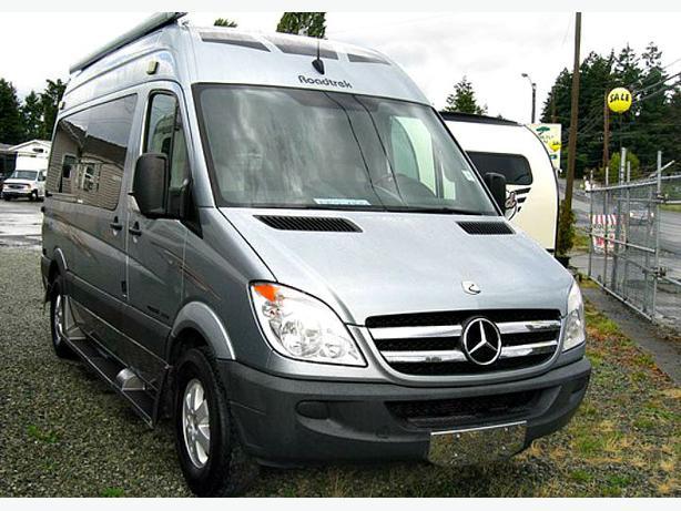Sold only 19 000 miles 2011 roadtrek ss agile for Mercedes benz roadtrek