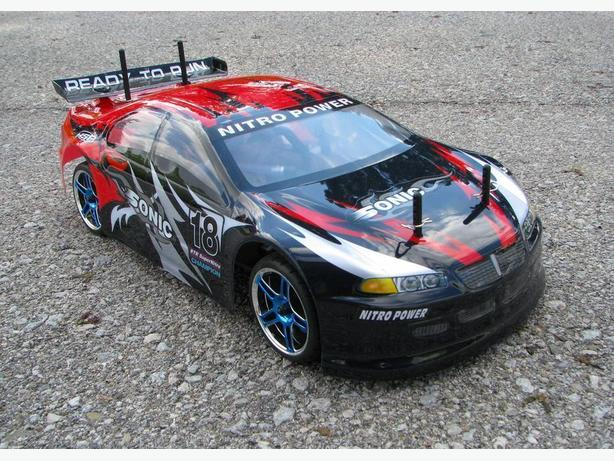 New HSP Radio Control Nitro 1/10 scale 4WD RC Racing Car
