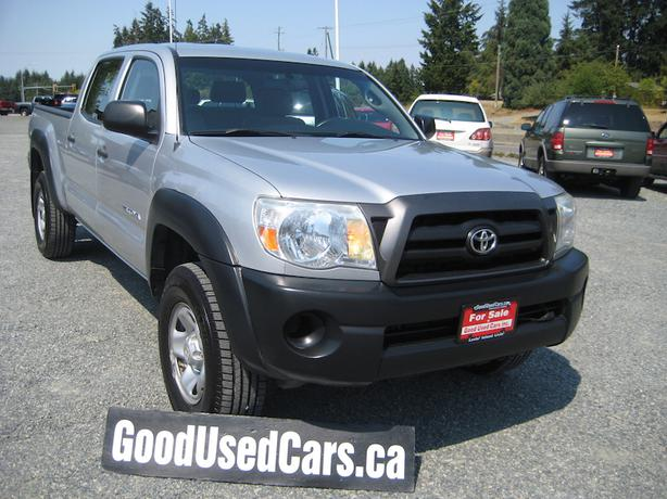 2007 toyota tacoma crew 4x4 new michelin ltx tires new rear shocks malahat including shawnigan. Black Bedroom Furniture Sets. Home Design Ideas