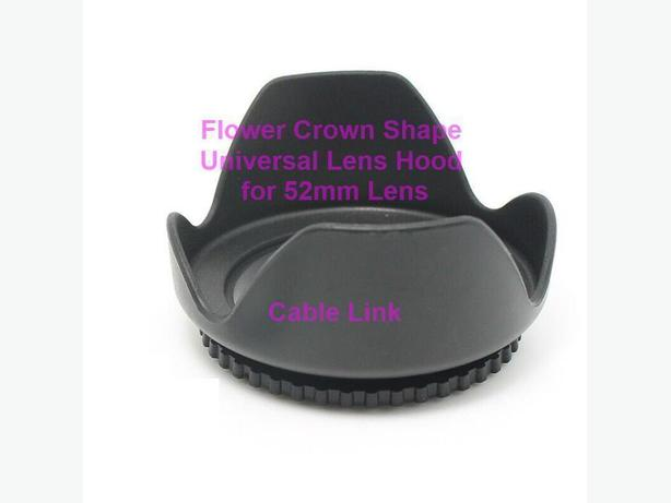 52mm Flower Shape Lenses Hood For Many Canon Nikon Cameras