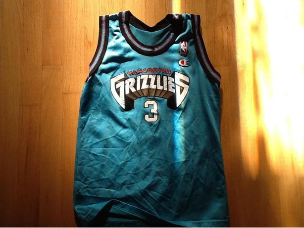 Vancouver Grizzlies Jersey #3 Abdur-Rahim - Children's Small