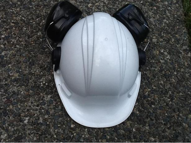 Hard Hat with Ear Protection