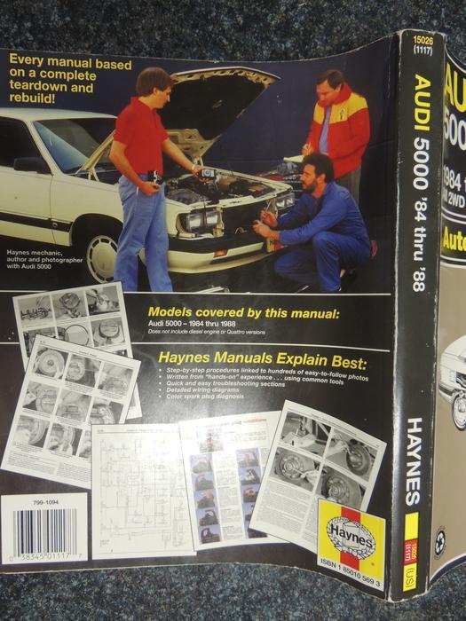 Audi 5000 Repair Manual North Saanich Sidney Victoriarhusedvictoria: 1988 Audi 5000 Wiring Diagram At Gmaili.net