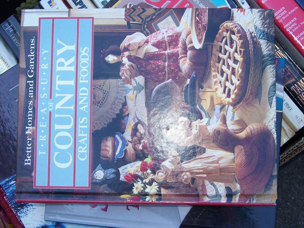 Book of Crafts and Food all in one