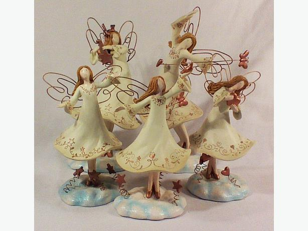 Spirit of the Angels Russ Berrie figurines