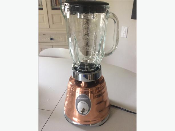 Oster Classic Beehive Blender ~ Copper finish classic osterizer beehive blender glass