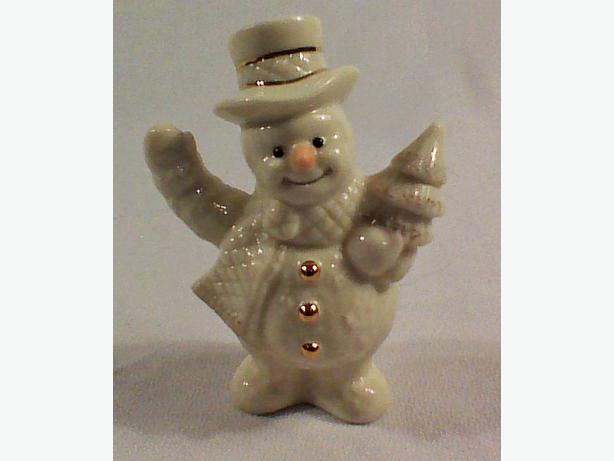 Collectible Snowman figurine