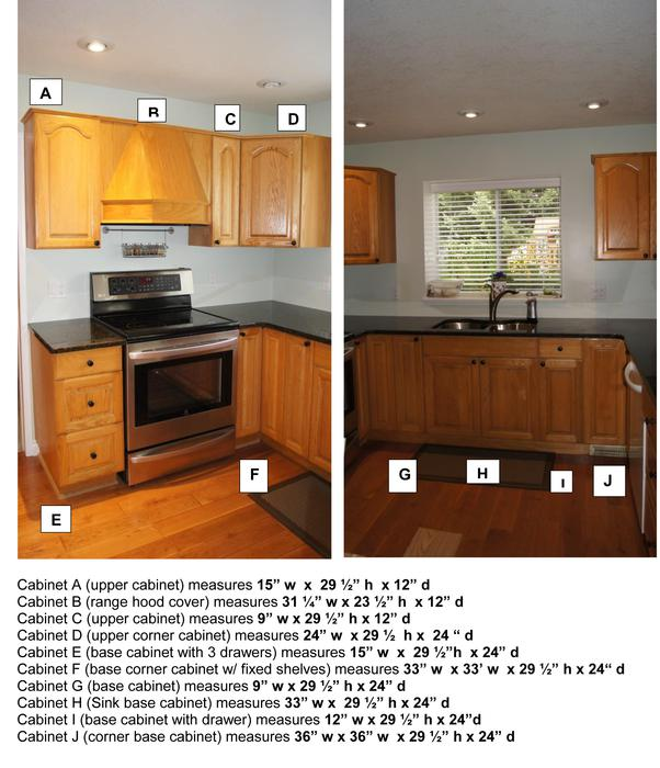 Oak kitchen cabinets campbell river campbell river for Kitchen cabinets york region
