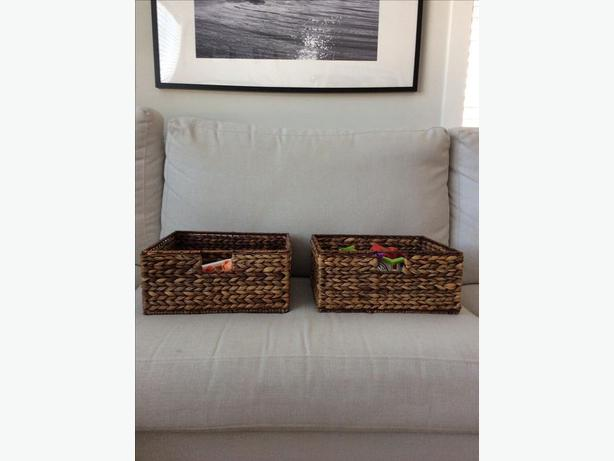 Pier 1 Imports  baskets