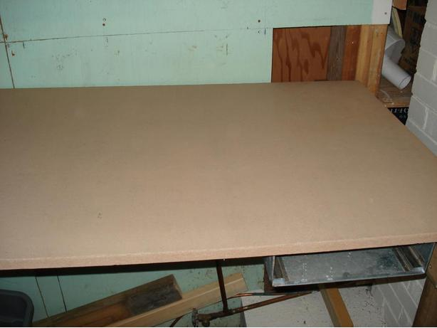 "Drafting Table 40""w x 27""d,  Removable legs  &  Stainless drawer"
