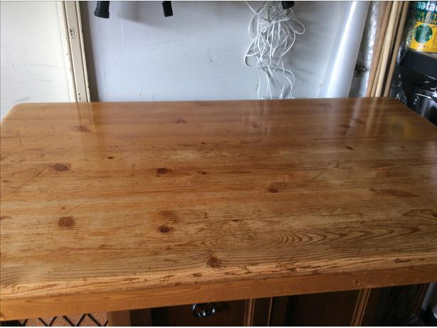 small pine kitchen table or a great sewing craft table orleans