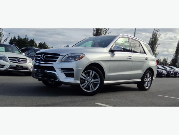2014 mercedes benz ml 350 bluetec outside metro vancouver vancouver. Black Bedroom Furniture Sets. Home Design Ideas