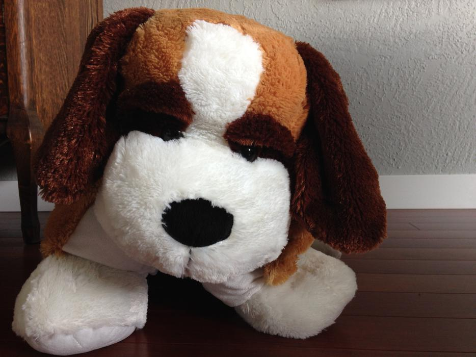 Stuffed Animal Dog Pillow : Plush dog stuffed animal/pillow Victoria City, Victoria