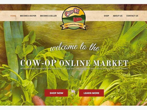 Support Local With The Cow-Op Online Market!
