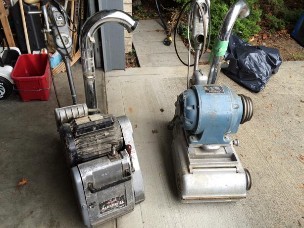 floor sanding machine