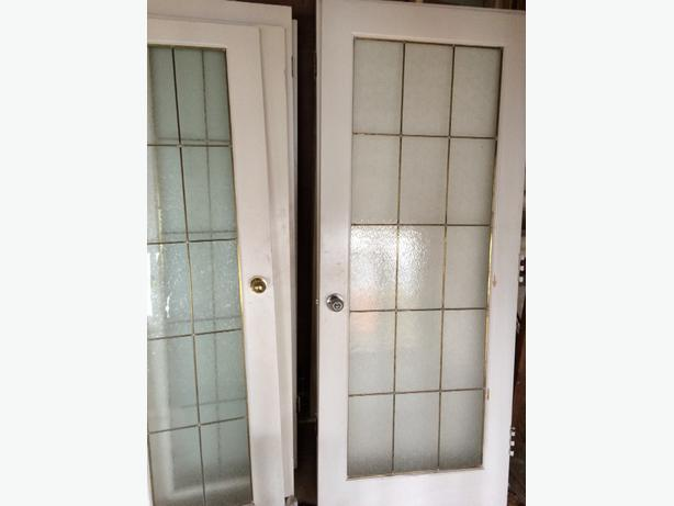 Interior doors for sale saanich victoria for White french doors for sale