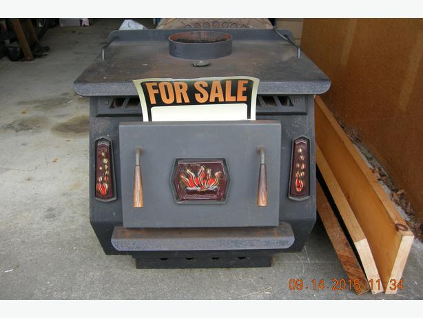 Wood Stove Blaze King Princess Model Outside Nanaimo