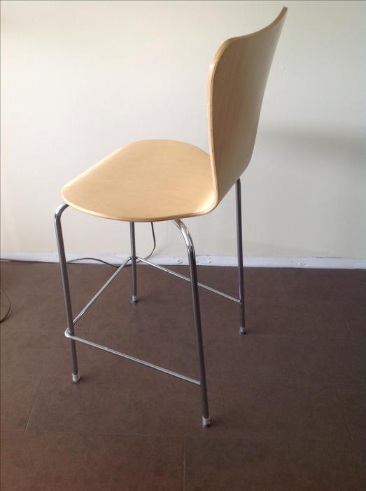 3 Danish Modern style bar height stools Ladysmith  : 49006825934 from www.usedcowichan.com size 523 x 700 jpeg 24kB