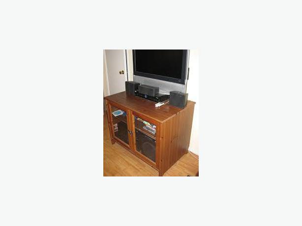 ikea leksvik tv dvd stereo stand cabinet sideboard 30. Black Bedroom Furniture Sets. Home Design Ideas