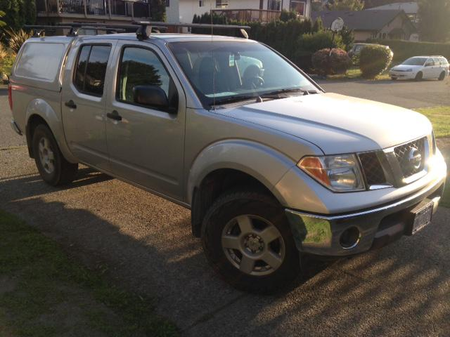 2005 nissan frontier 4x4 low kms crew cab new transmission victoria city victoria mobile. Black Bedroom Furniture Sets. Home Design Ideas