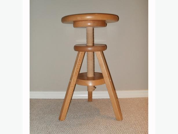 Adjustable Round u0027Pianou0027 Stool - Solid Wood & Adjustable Round u0026#39;Pianou0026#39; Stool - Solid Wood Central Regina ... islam-shia.org
