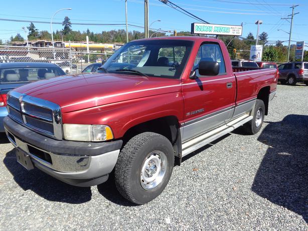1995 Dodge Ram 1500 4x4 Outside Victoria Victoria