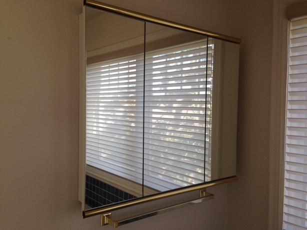 2 X Bathroom Mirror Fronted Cabinets Oak Bay Victoria