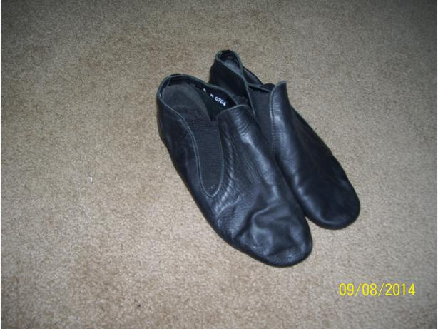 Leather Jazz shoes size Size 5 EXCELLENT