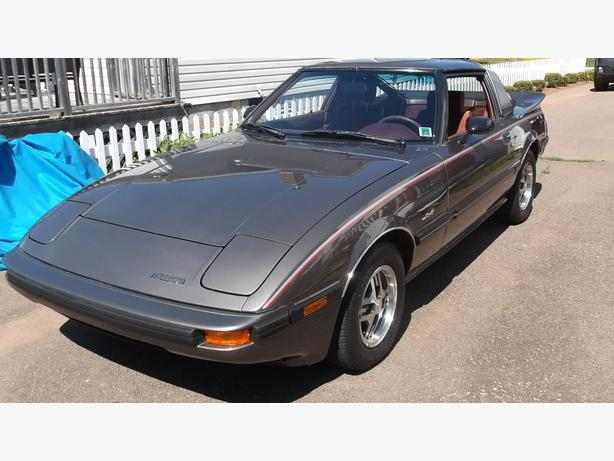 1985 MAZDA RX7 COUPE WITH ONLY 11833 KM!!