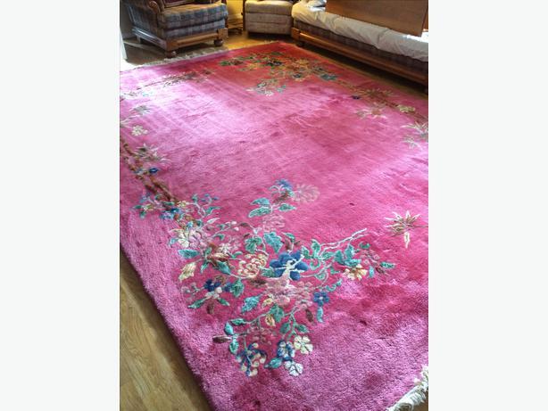 British India Wool Rug Saanich Victoria