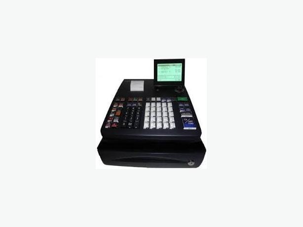 CASH REGISTER - CASIO PCR T500, 10 LINE DISPLAY, SD CARD SLOT