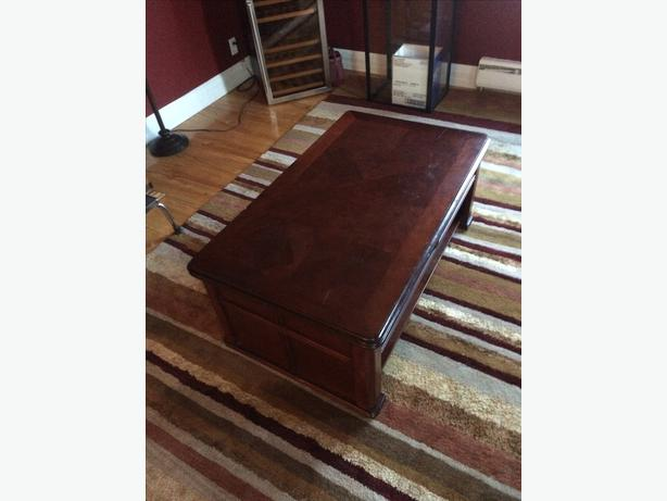 Folding coffee table table de salon pliante gatineau for Table pliante