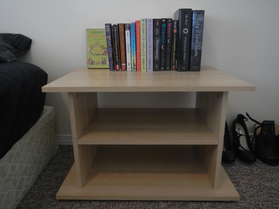ikea side table bookshelf shelves unit oak bay victoria
