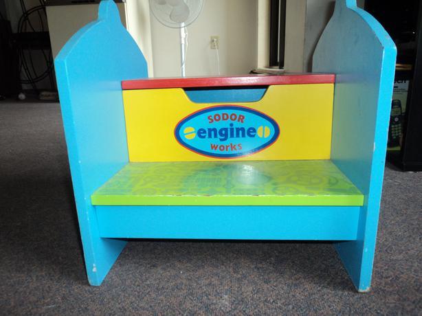 Thomas The Train wooden step stool & Thomas The Train wooden step stool Victoria City Victoria islam-shia.org