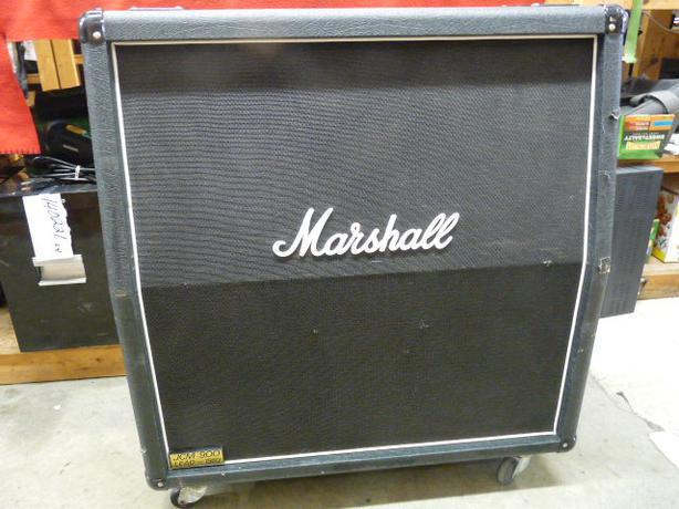 marshall jcm900 1960a 4x12 inch speaker cabinet on wheels victoria city victoria. Black Bedroom Furniture Sets. Home Design Ideas