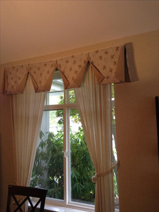 Fabric Valence And Drapes Parksville Nanaimo