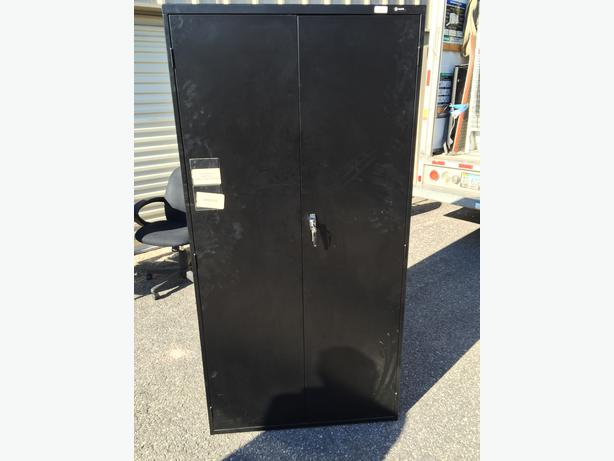 "Storage Cabinets, 6' and 42"" Black, beigh etc."